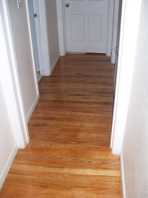 Hallway Hardwood Floor Refinishing Old To Gold Hardwood