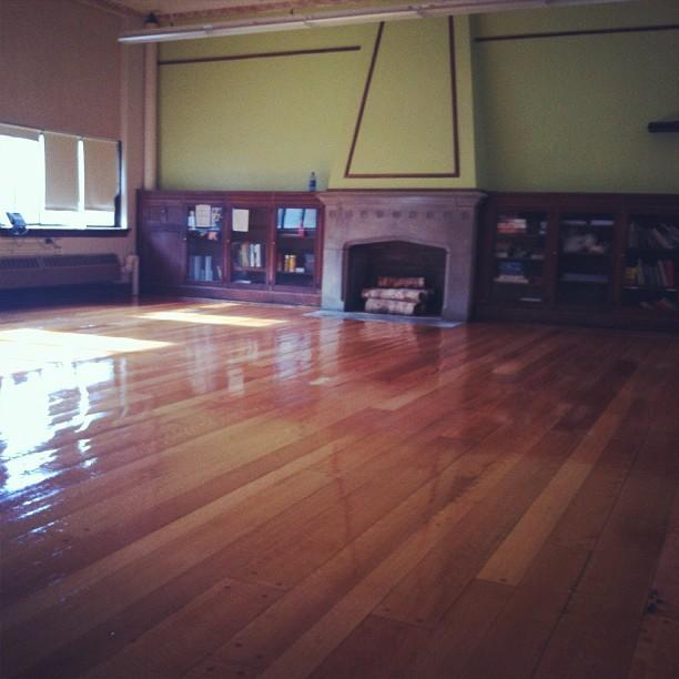 Love this hardwood floor classroom with fireplace we for Hardwood floors kalamazoo