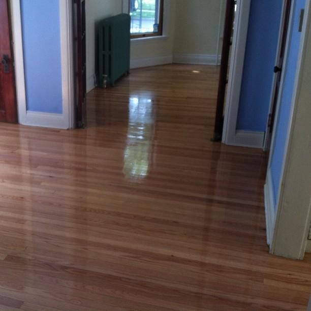 Another beautiful hardwood floor refinishing project for Hardwood floors kalamazoo