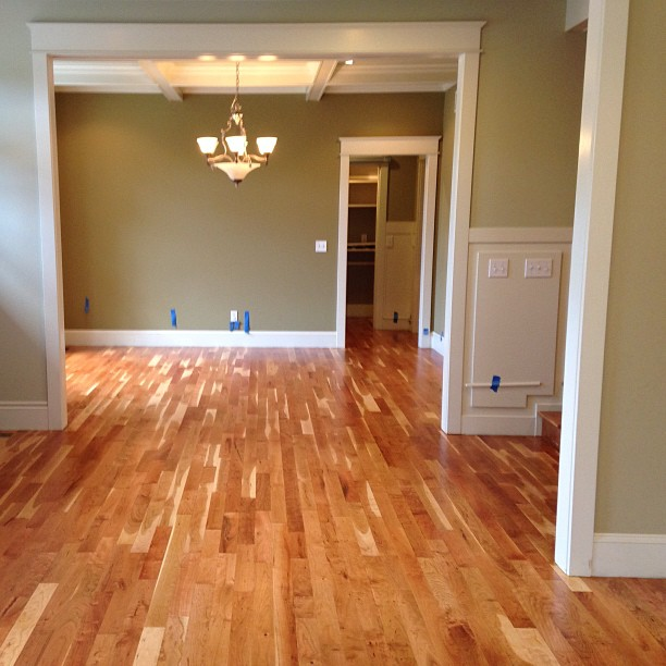Proud of our natural cherry 2 hardwood floor for Natural wood flooring