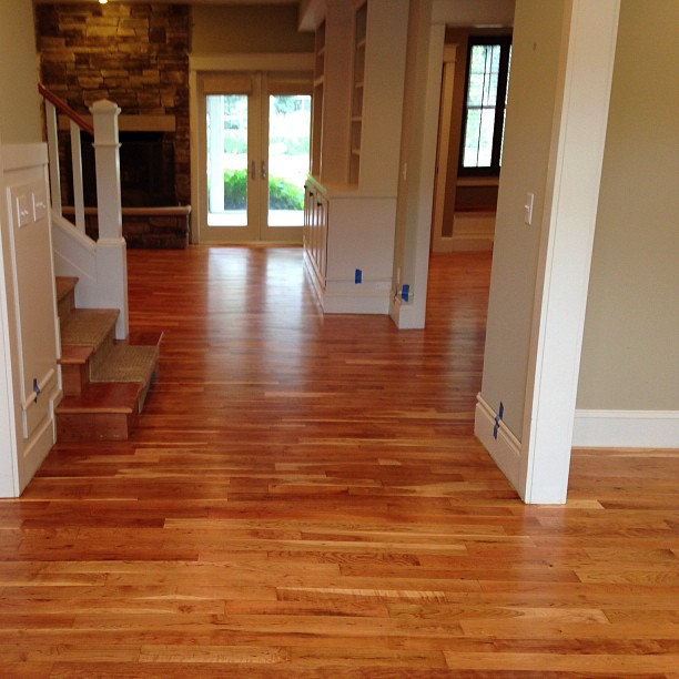 Proud of our natural cherry 2 hardwood floor for Hardwood floors kalamazoo