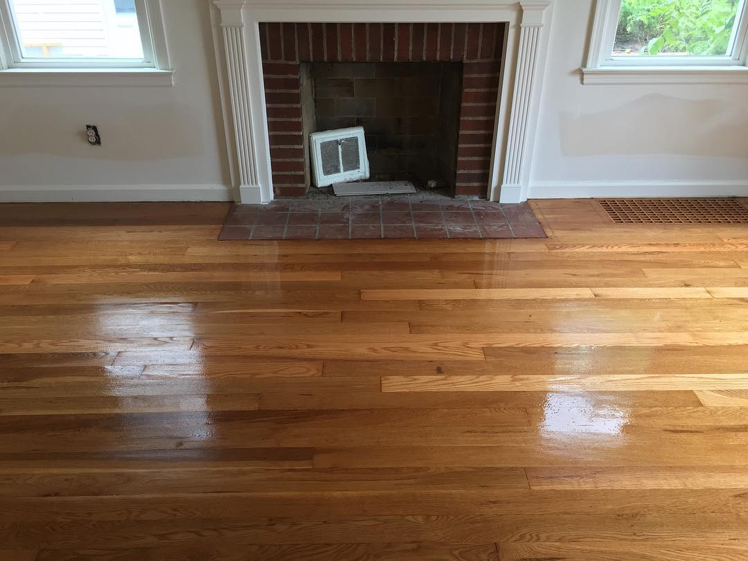 Thanks to our machine set up, we were very pleased at what we found underneath all the adhesive. #floorsander #flooring #hardwoodflooring #hardwoodfloor #woodflooring #woodfloors #grandrapids #metrogr #grmi #michigan #entrepreneur #smallbusiness #hgtv #interiordesign #remodeling #woodworking #woodworker #pinterest #floorguys #architecture #designer #customwork #bona #bonapowerdrive #powerdrive #festool #new #fresh