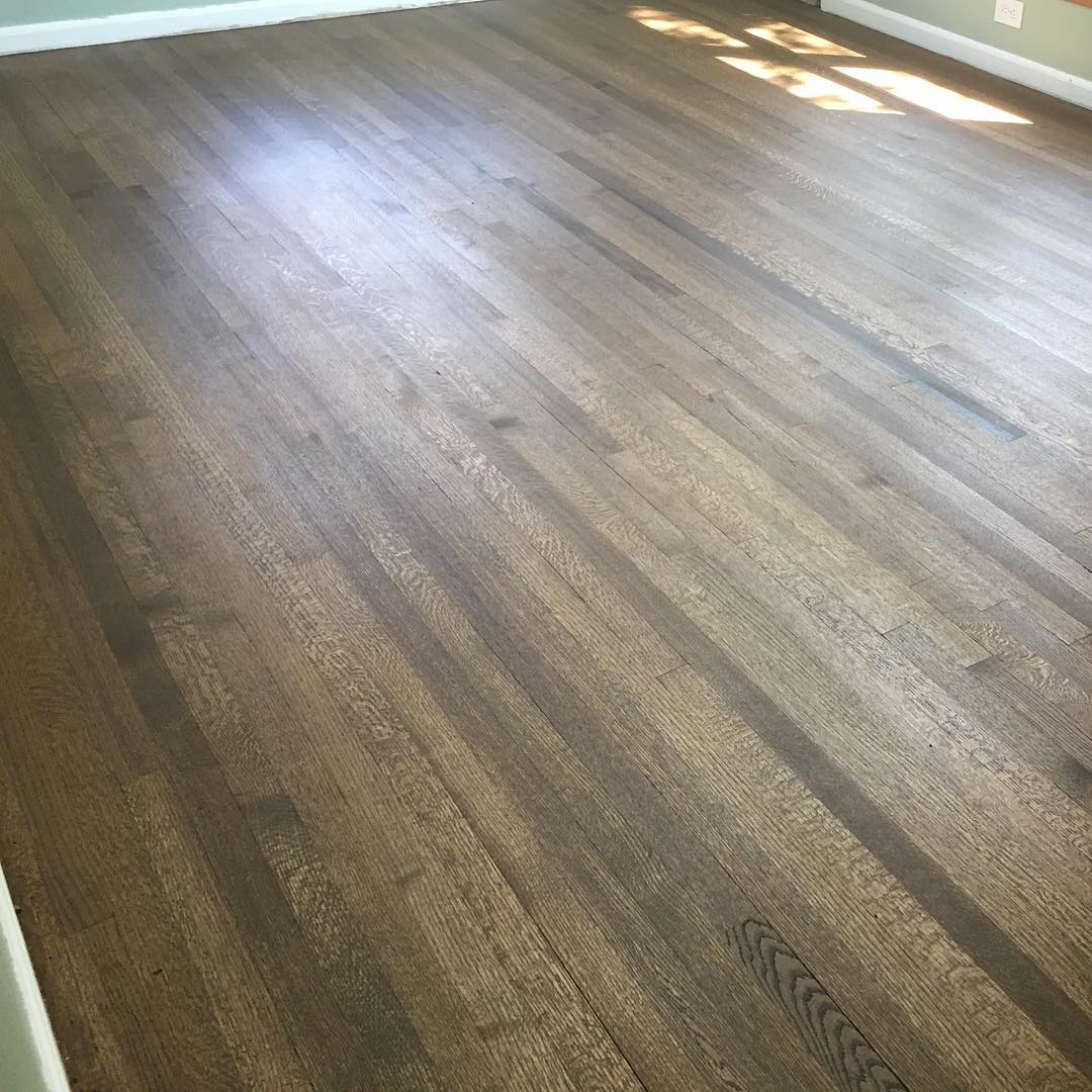 Rift and quarter sawn oak is by far one of our favorite cut and species, whether it's stained or natural, but in this case, stained! 😍#floorsander #flooring #hardwoodflooring #hardwoodfloors #woodflooring #woodfloors #grandrapids #puremichigan #michigan #entrepreneur #smallbusiness #nofilter #interiordesign #remodeling #woodworking #woodworker #architecture #highend #customwork #new #fresh #oldtogold #NWFA #NWFACertifiedPros #HardwoodFloorsMag #NWFACertified #oakflooring #riftandquartersawn #bonacertified #bona